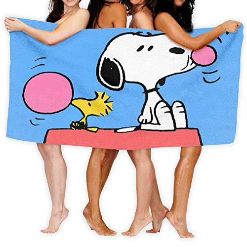 LCXYUJIN Beach Towels Bath Towels Snoopy Microfiber Fast Drying Bath Towels Swimming Camping Towel Adults Spa Bath Towel 31