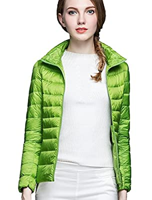 CHERRY CHICK Women's Ultralight Packable Down Jacket (Ideal for Spring & Autumn)