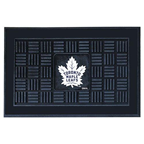 Fanmats 11468 NHL Toronto Maple Leafs Vinyl Medallion Door Mat