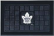 Fanmats 11468 Black NHL Toronto Maple Leafs Vinyl Door Mat, 19 Inch x 30 Inch