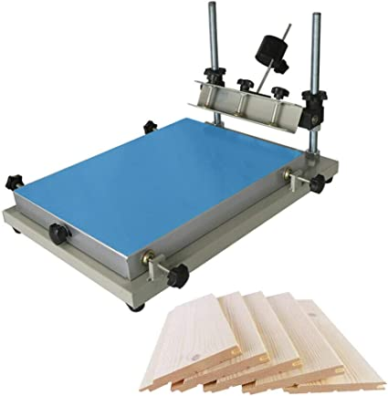 High Precision Manual Solder Paste stencil Printer SMT pcb printing machine US