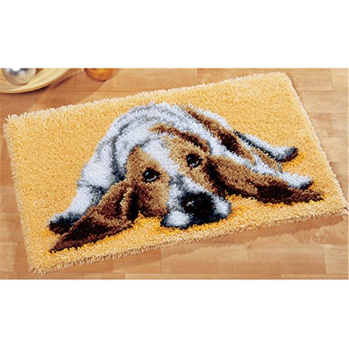 15 Model Dog Latch Hook Kit Rug Dog306 20 by 15 Inch (1 pack)
