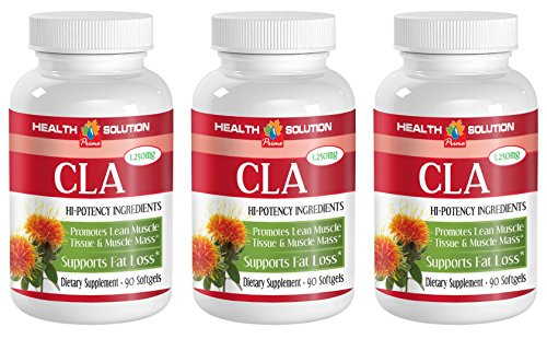 Cla safflower oil weight loss - CLA 1250mg - prevent obesity (3 bottles)