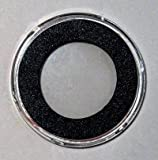 "25 Air-Tite ""H"" Black Ring Coin Holders for 32mm Coins"