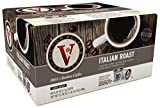 Victor Allen Coffee, Italian Roast Single Serve K-cup, 80 Count (Compatible with 2.0 Keurig Brewers)