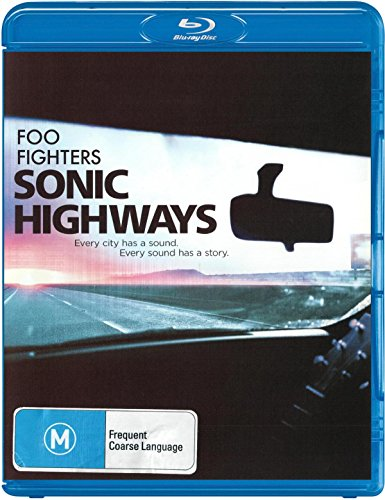 Blu-ray : Foo Fighters - Sonic Highways [Explicit Content] (3 Disc)