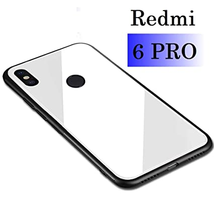 separation shoes 656b0 66194 KARWAN Glass Back Cover for XIAOMI REDMI MI 6 PRO: Amazon.in ...