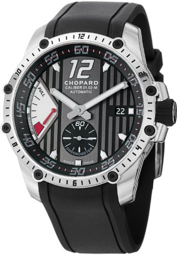 Chopard-Classic-Racing-Superfast-Automatic-Black-Dial-Black-Rubber-Strap-Mens-Watch-168537-3001