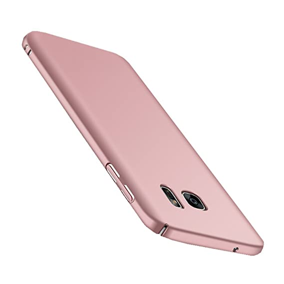 Wouier Samsung Galaxy S7 Hülle, Mode-Design Ultra Slim Federleicht Anti-dropping Schrubben PC Hart Hülle Schutzhülle für Sams