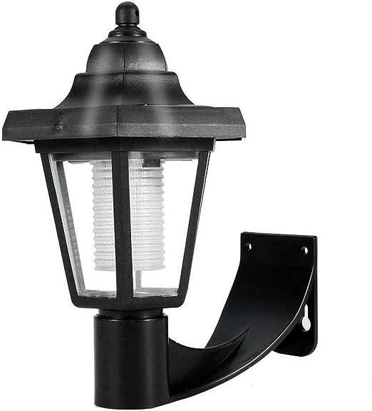 riou Anti Mosquito Lámpara Solar para Mosquitos Mosquito Killer Jardín Exterior LED Lámpara para césped Sensor de luz Control Nueva lámpara de Mosquito Solar de Pared (1 PCS): Amazon.es: Jardín