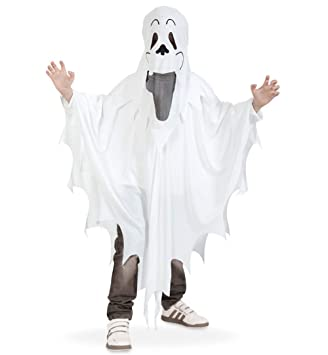 Narrenwelt Geist Cape Haube 1558 Pb Halloween Kostüm 128 Gespenst
