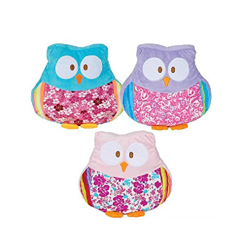 14'' Owl Pillow by Bargain World