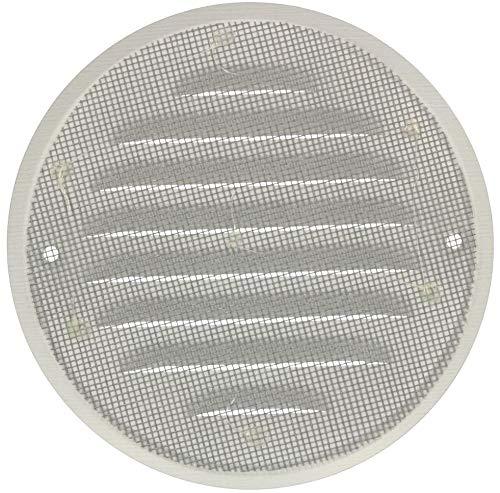 KOTARBAU Grille da/ération ronde en zinc 130 mm Noir