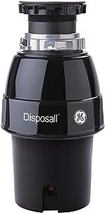 GE GFC530N Garbage Disposer, Black