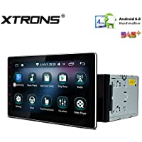 XTRONS 10.1 Inch Quad-Core 16G ROM Android 6.0 HD Capacitive Touch Screen Car Stereo Radio Player GPS Wifi OBD2 Screen Mirroring