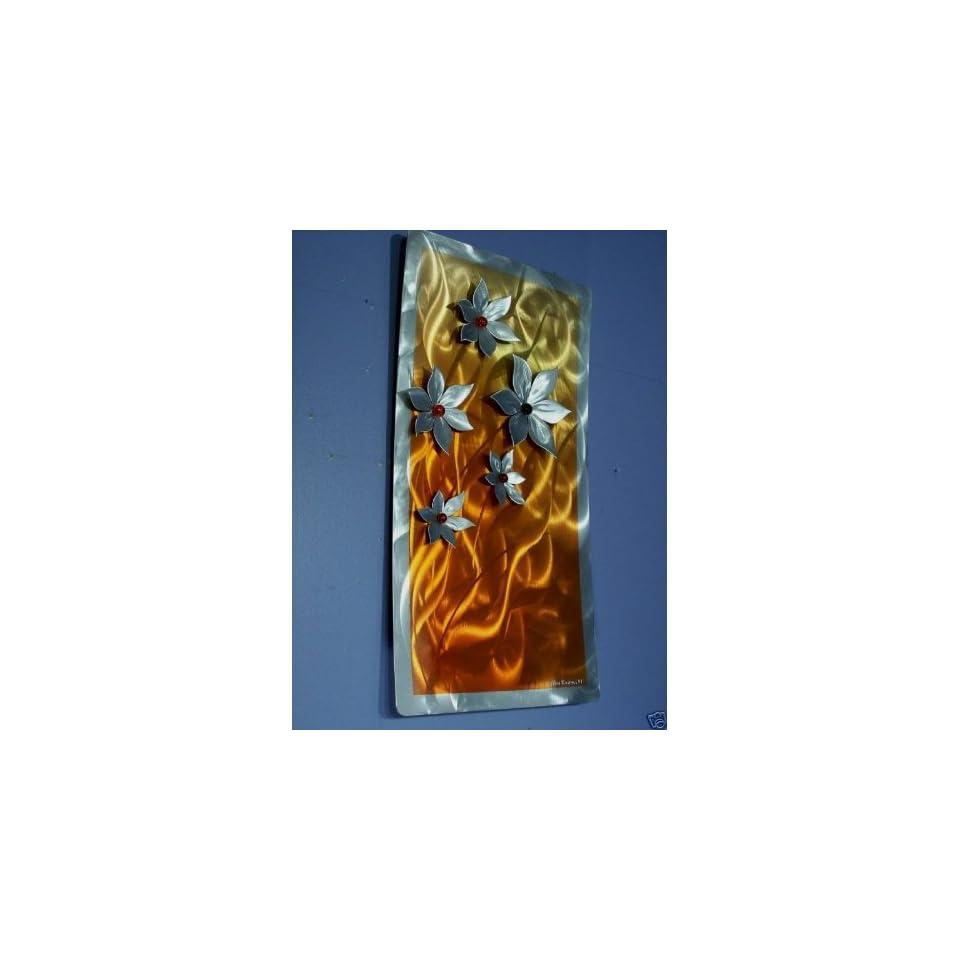 Metal Wall Decor, Floral Art