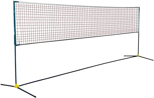 Foldable Portable 4//5M Badminton Net Volleyball Tennis Nets With Frame Stand UKE