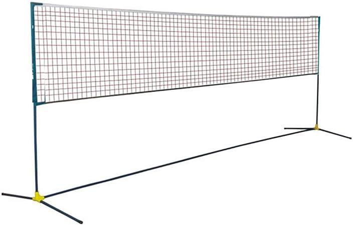 DYC Badminton Net Portable Volleyball Net Household Folding Outdoor Tennis Net for Beach Garden Courtyard Outdoor Indoor Sports Accessories