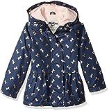 Osh Kosh Toddler Girls' Cute Midweight Fleece-Lined Jacket, Navy Gold Foil Unicorn, 4T