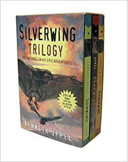 The Silverwing Trilogy Boxed Set Sunwing Firewing Kenneth Oppel 9780689036132 Books