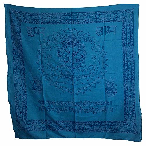 Ganesh Mantra Cotton Altar Cloth (40