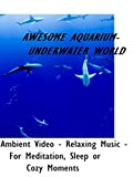 Awesome Aquarium - Underwater World - Ambient Video - Relaxing Music - For Meditiation, Sleep or Cozy Moments