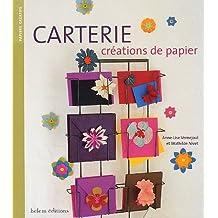 Carterie, créations de papier