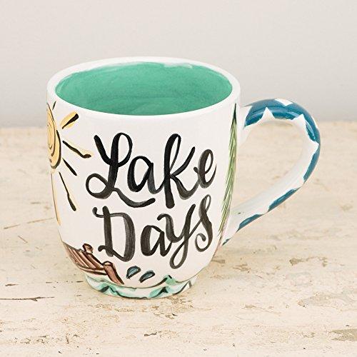 Glory Haus Lake Days Mug, 16oz, Multicolor