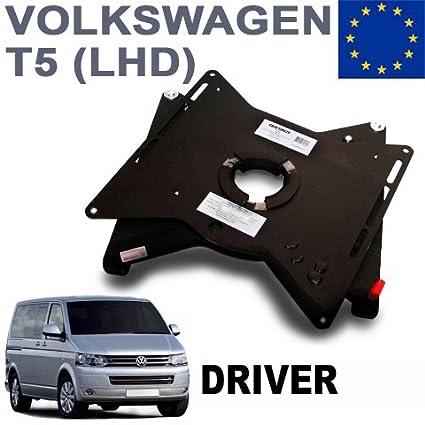 Para VW T5 Transporter Multivan Caravelle 1+1 Tela Delante Fundas de Asiento