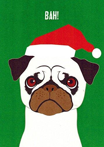 Pug Boxed Christmas Cards