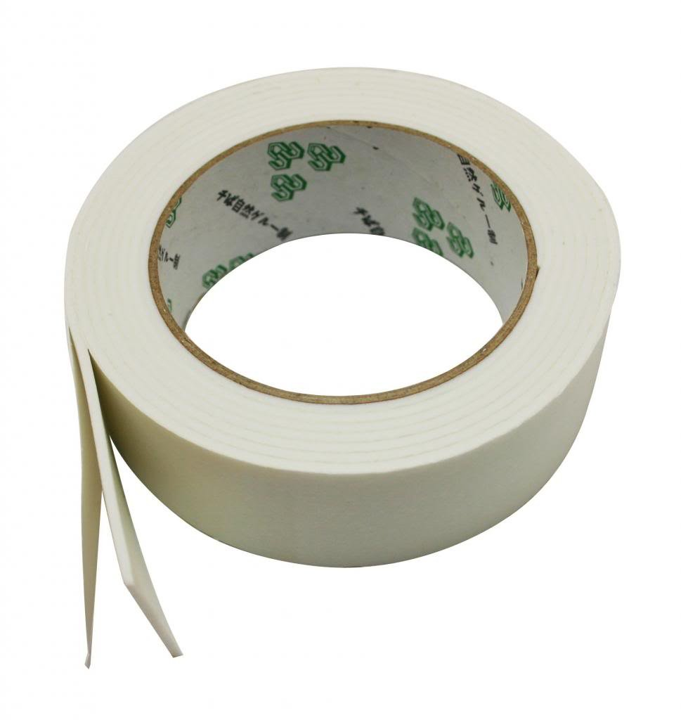 Ailisi Foam Double Sided Adhesive Tape 1.4 X 50 Inches Pack of 4 Rolls