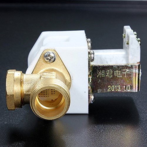 DC24V Normally Closed Solenoid Valve N/C 1/2Inch For Water Air