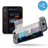 Screen Protector for Nintendo Switch. High Quality Temprered Glass | Anti shock | Highly responsive | High Transparency | Finger Print Resistant by Alianza Products