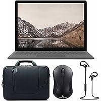 Microsoft Surface i5, 8GB RAM, 256GB w/ Shoulder Bag Accessory Bundle - Graphite Gold
