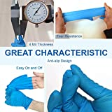 RedyPure 4 Mil Thicken Nitrile Gloves, Disposable