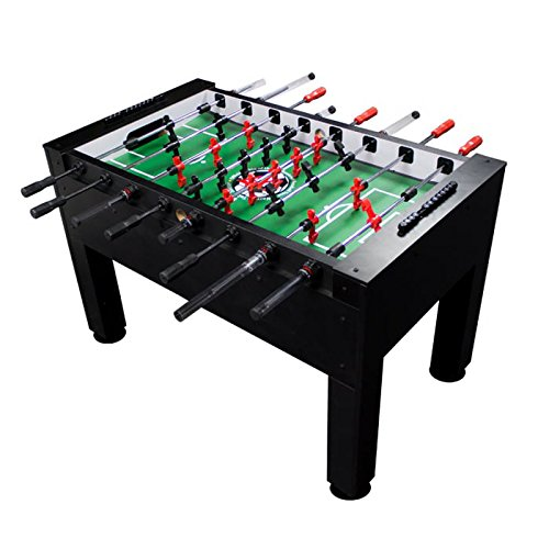 Warrior Professional Foosball Table - Classic Soccer Design, Easy to Build, safest Table for Players of All Ages