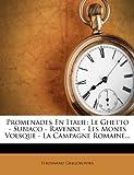 img - for Promenades En Italie: Le Ghetto - Subiaco - Ravenne - Les Monts Volsque - La Campagne Romaine... (French Edition) book / textbook / text book
