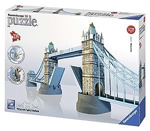 Ravensburger - Puzzle 3D, diseño Tower Bridge (12559 3)