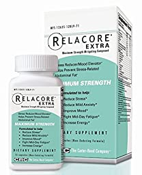 Relacore Maximum Strength Dietary Supplement Tablets, 72 Count