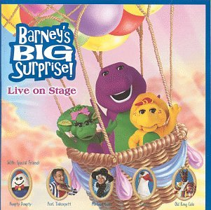 Barney's Big Surprise: Live Recording Of The Stage Show Tour (Barney Sing A Long Songs Cd)