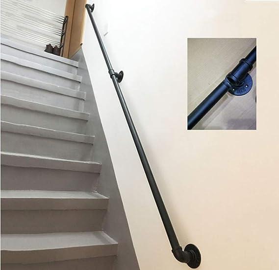 Pasamanos de Escalera de Hierro Fundido rústico Industrial ...