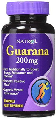 Natrol Guarana 200mg Capsules Count