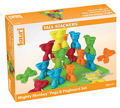 Mighty Monkey Pegs & Pegboard