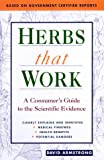 Herbs That Work, David Armstrong, 1569752117