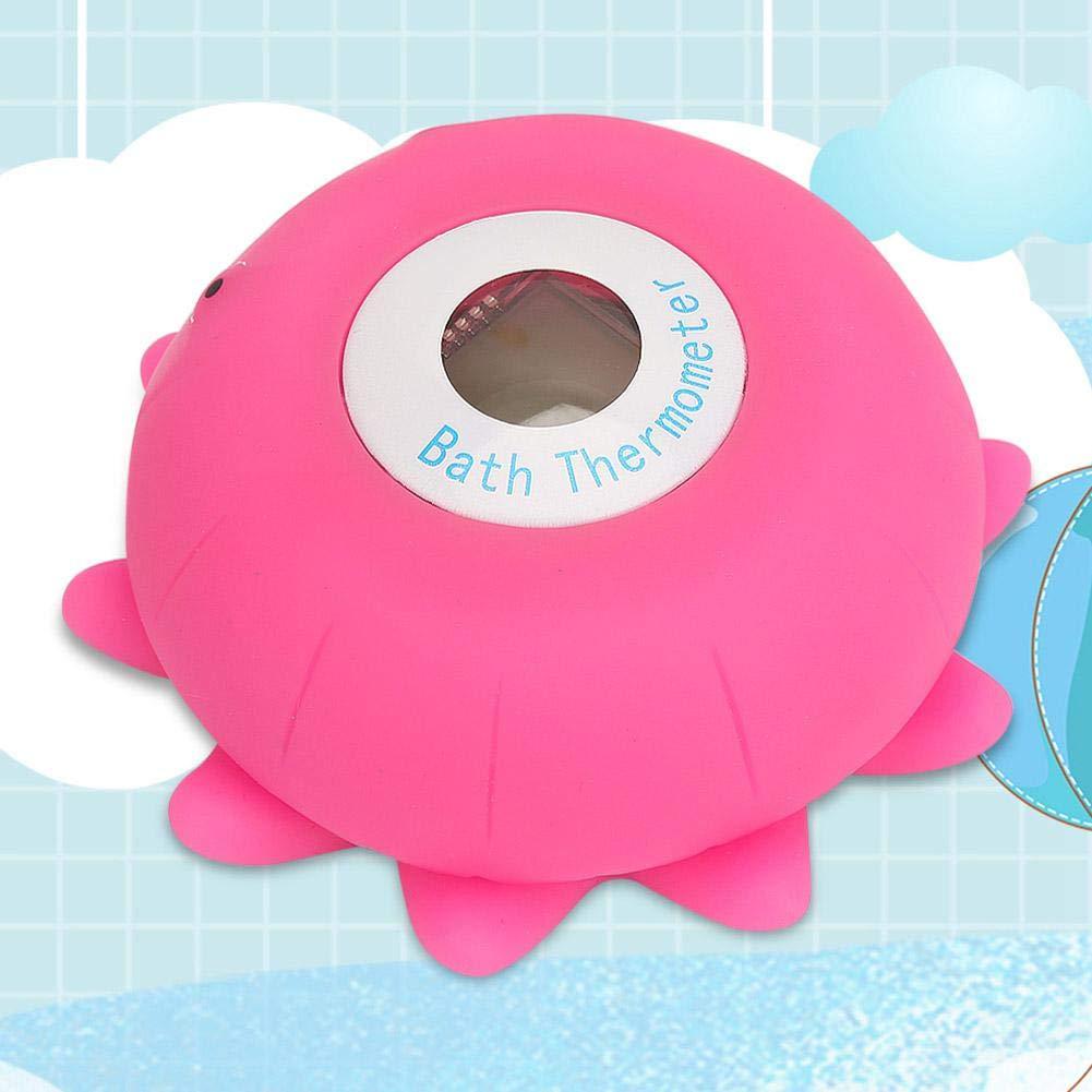 Dusche Thermometer Baby Cartoon Gesundheit Badewanne Thermometer Schwimmspielzeug Thermometer Sicherheitstemperatur Thermometer f/ür Kleinkinder