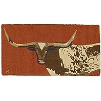 Chandler 4 Corners Longhorn Steer 2x4 Rug