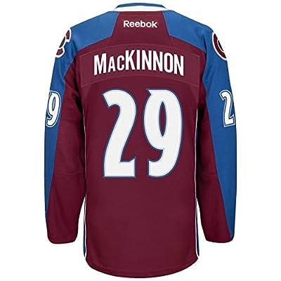 Nathan MacKinnon Colorado Avalanche Reebok Premier Replica Home NHL (XL)