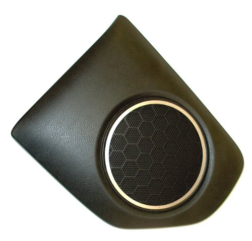 Speaker Satin Metal Trim Ring Bezel Set Fits 2013 2017 Toyota GT86 Scion FR-S Subaru BRZ ()