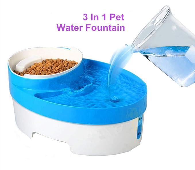 Amazon.es: Fuente de Agua Gatos y Perros, Dispensador de Agua Automático para Mascotas, Bebedero Automático 4 L de Gato, Perro, Sano e Higiénico