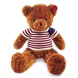 """Kaylee & Ryan 39"""" Brown Skin American Teddy Bear Plush Toys - 51N6IjTBfrL - Kaylee & Ryan 39″ Brown Skin American Teddy Bear Plush Toys"""